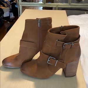 Vince Camuto brown bootie